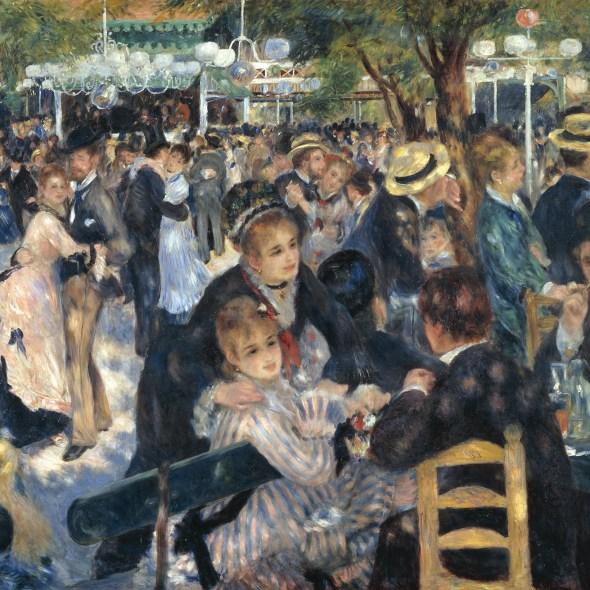 Dance at Moulin de la Galette, Pierre-Auguste Renoir