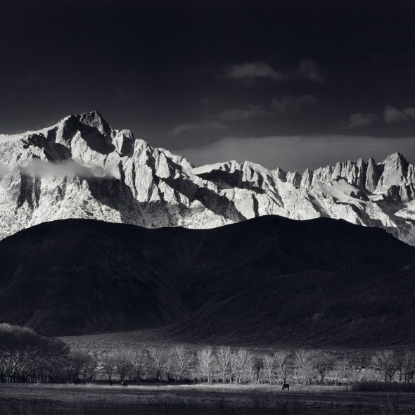 Winter Sunrise Ansel Adams