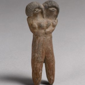 Working Title/Artist: Double-Headed Figure Department: AAOA Culture/Period/Location: HB/TOA Date Code: Working Date: end of 3rd millennium B.C. mma digital photo #DP105132