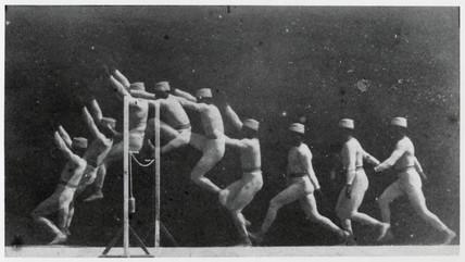 Marey, A Man Doing a High Jump, 1892