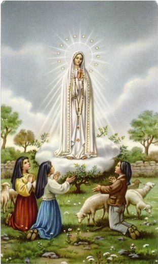 Apparition of Mary to the three children