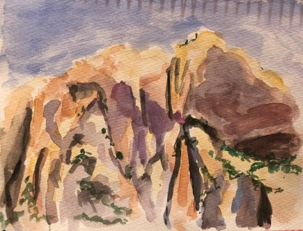 Watercolor Zion 2