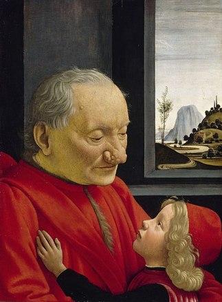 Domenico Ghirlandaio, Portrait of Grandfather, 1490