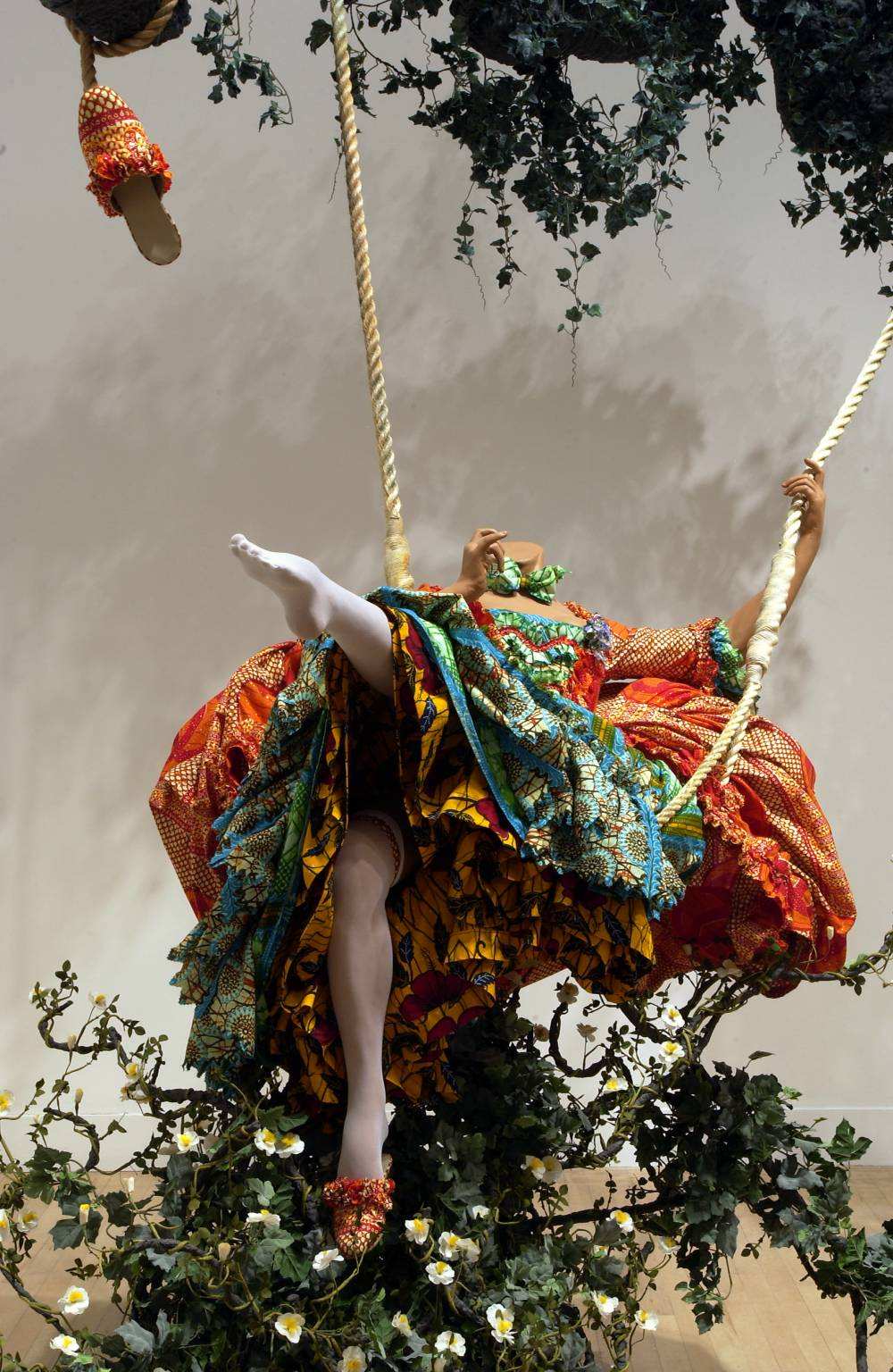 The Swing (after Fragonard) 2001 by Yinka Shonibare, MBE born 1962