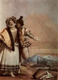 Giovanni Domenico Tiepolo, The Declaration of Love, 1757