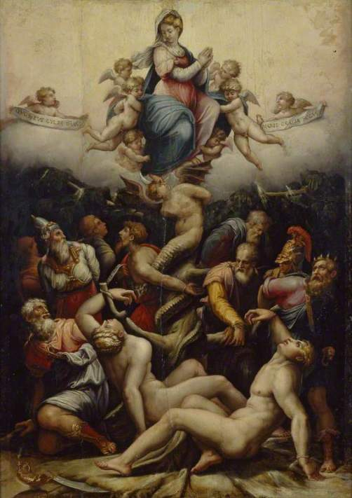 Giorgio Vasari, An Allegory of the Immaculate Conception, 1540