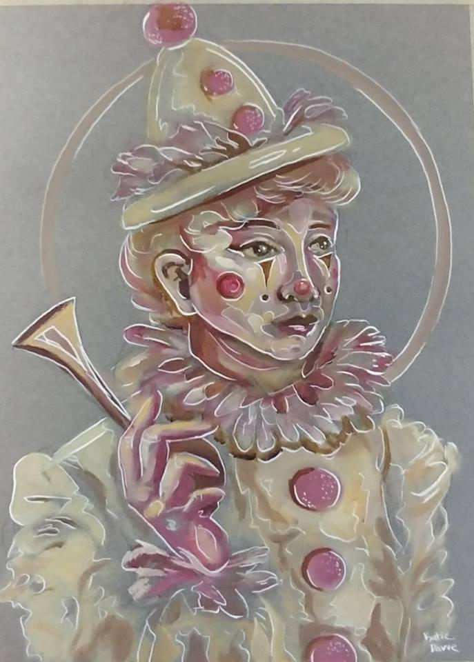 pastel clown