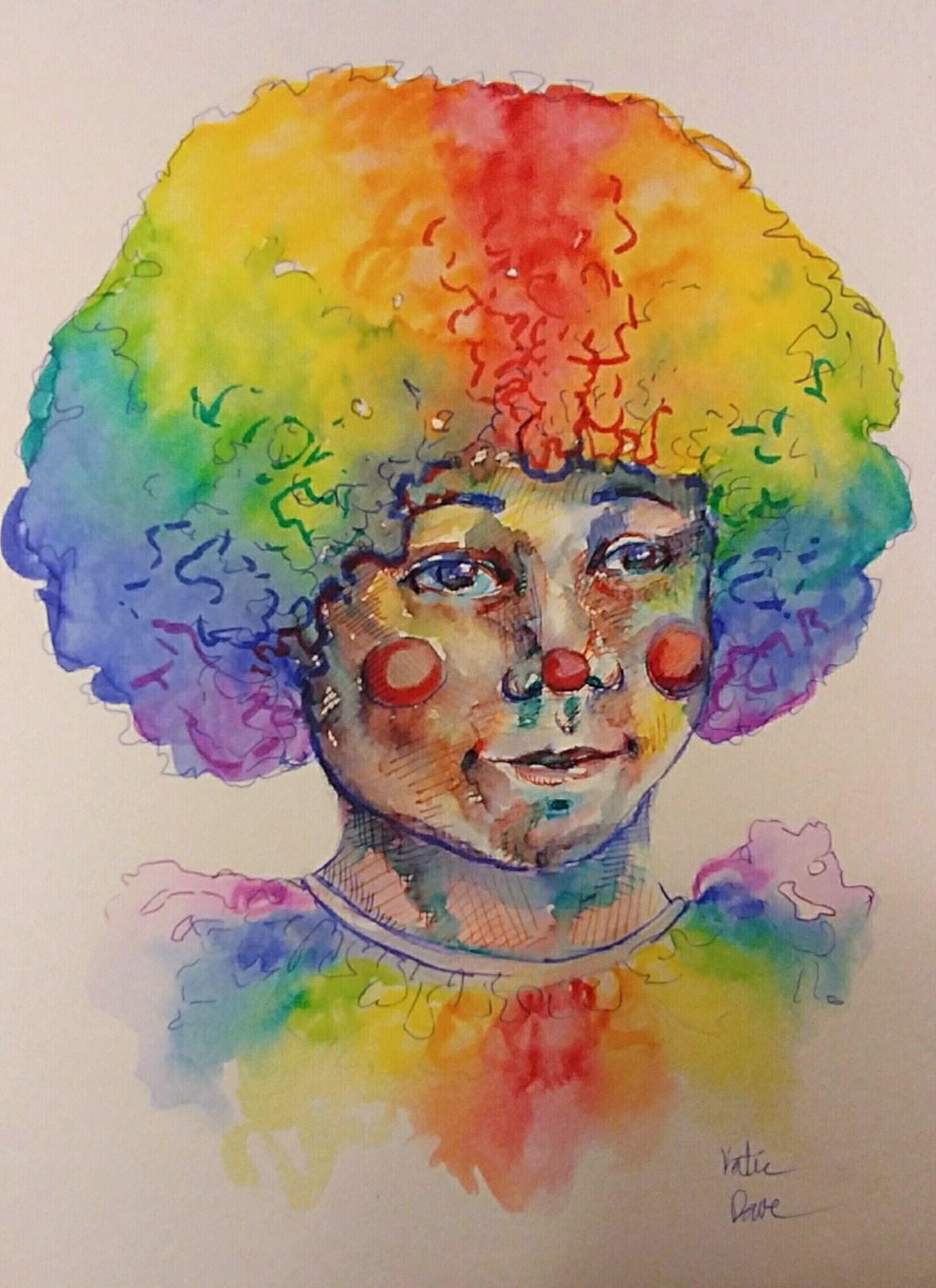 Rainbow Clown