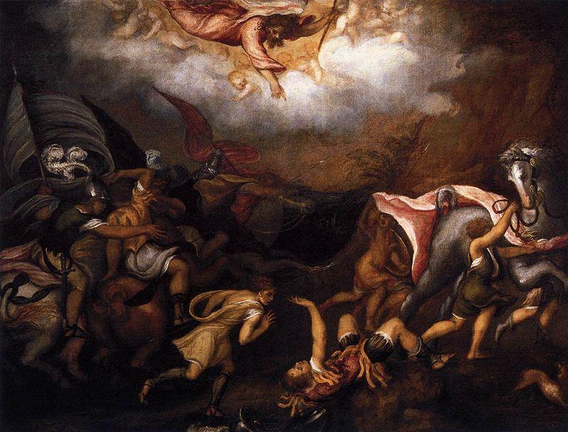 Conversion of Saul, 1540-5