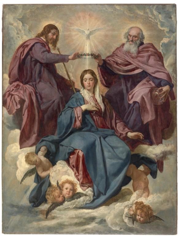 Diego Velazquez, The Coronation of the Virgin, 1635