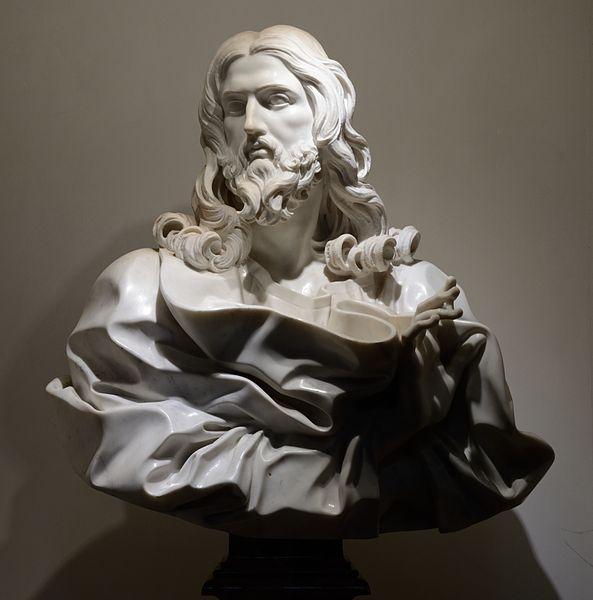 Bernini, Bust of Jesus Christ/Saviour, 1679