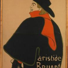 Aristide Bruant, at His Cabaret,1893