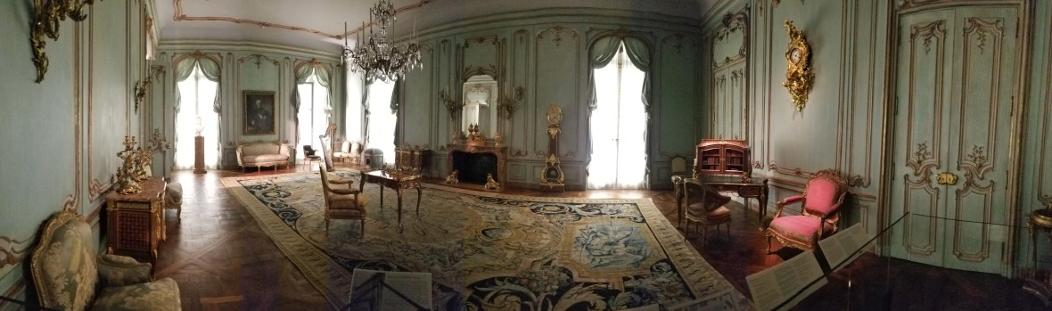 Austrian room called the Boiserie from the Palais Paar in from Vienna in 1765-72