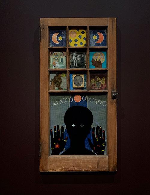Black Girl's Window By Betye Saar