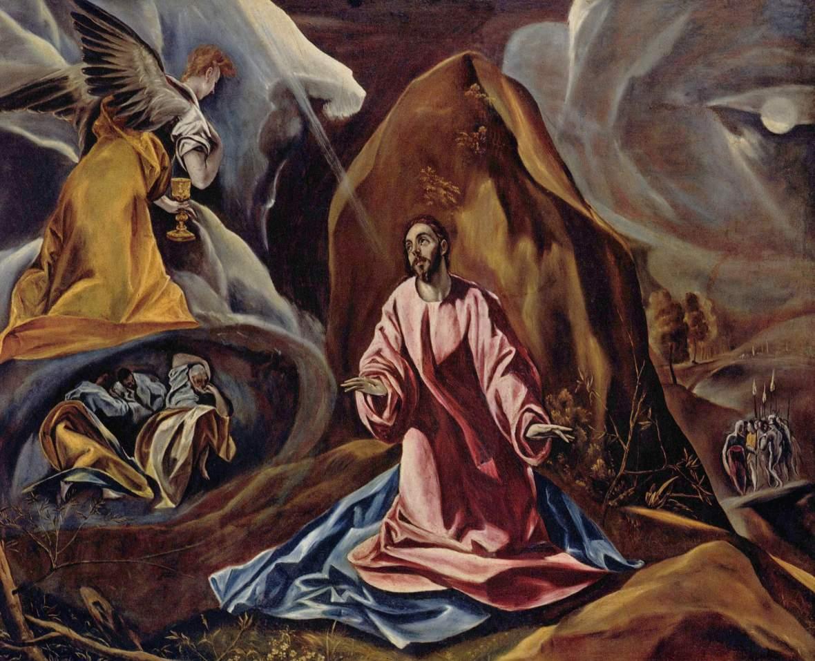 El Greco, Agony in the Garden, 1590