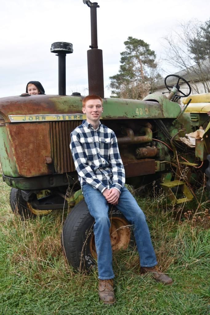Brianna Pensak- J & J on The Tractor