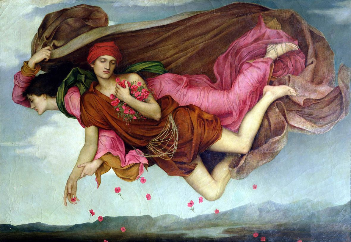 Evelyn de Morgan, Night and Sleep, 1878