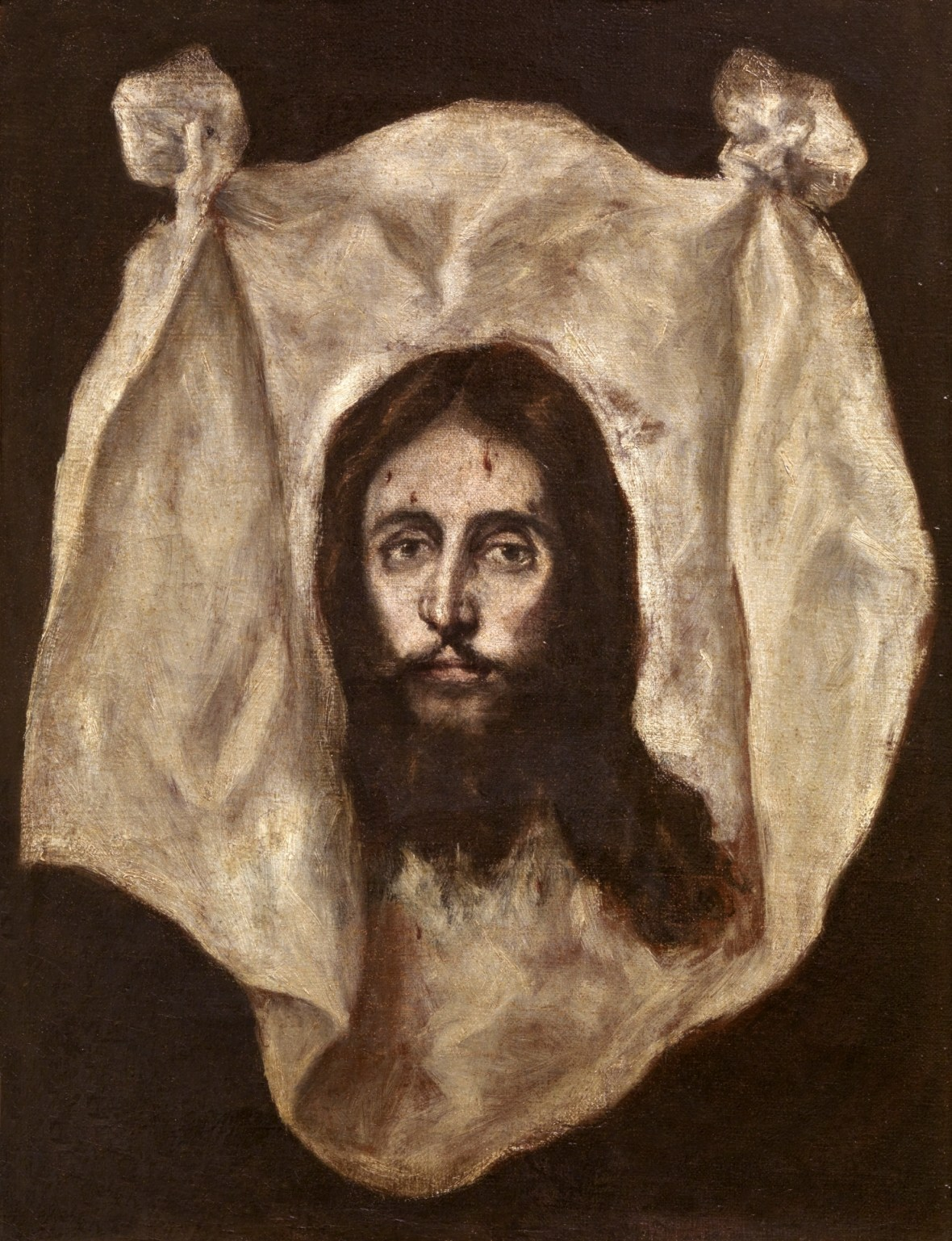 El Greco', The Veil of Saint Veronica, 1586 to 1595.