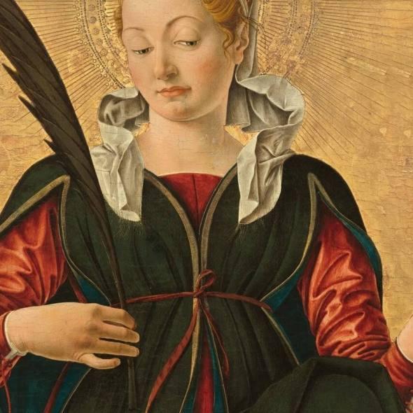 Francesco del Cossa, Saint Lucy, c. 1473_1374