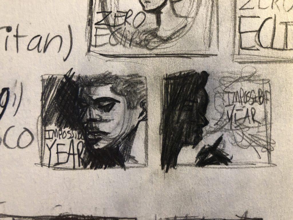 Drawings of Brendon Urie