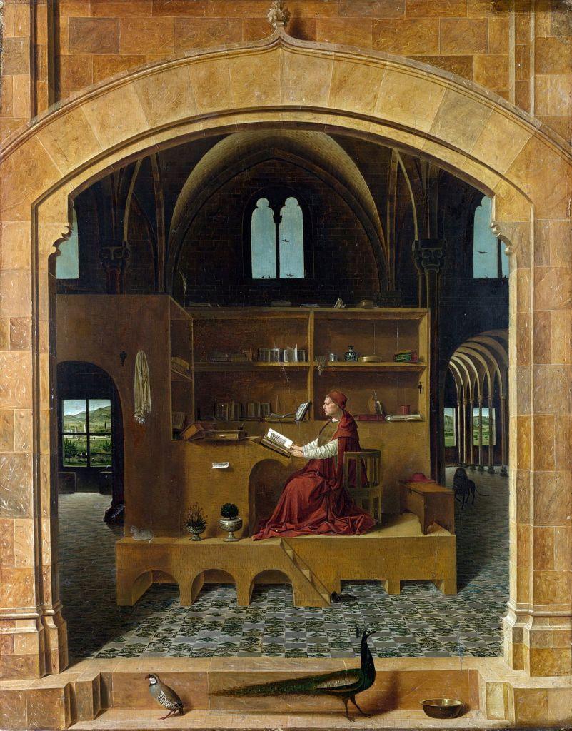 Antonello da Messina, Saint Jerome in His Study
