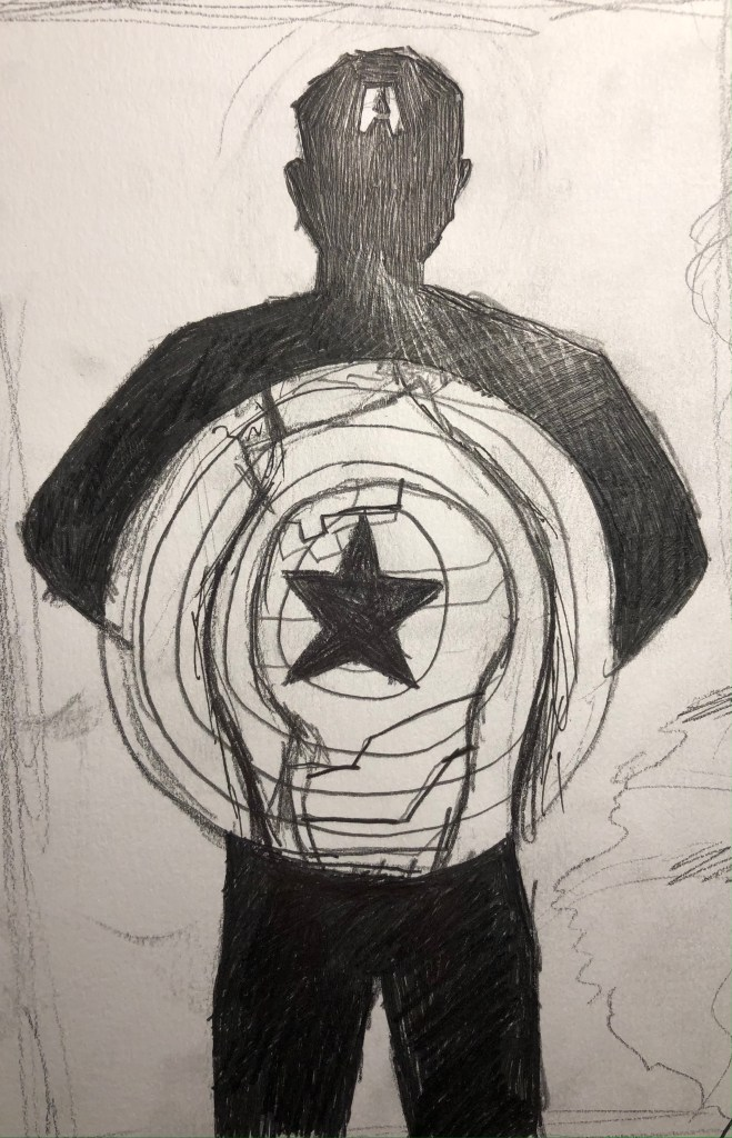 Captain America With Shield