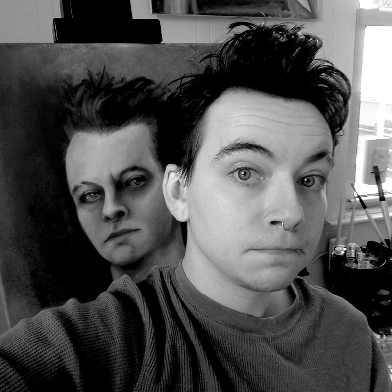 Tumnus Moran Self-portrait Selfie