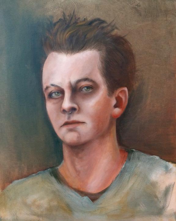 Tumnus Moran Self-Portrait Take 4