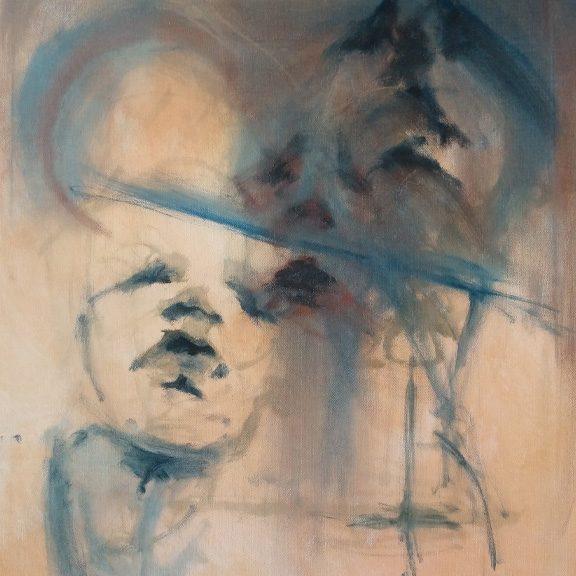 Tumnus Moran WIP Abstract Painting