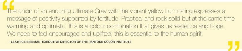 Leatrice Eiseman Quote for Pantone 2021 Color of the Year