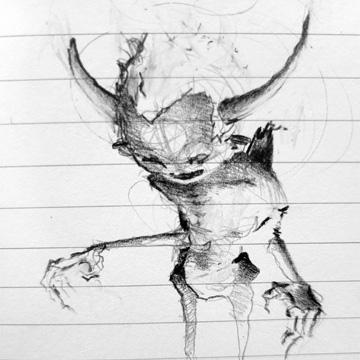 Tumnus Moran Demon Fella Doodle
