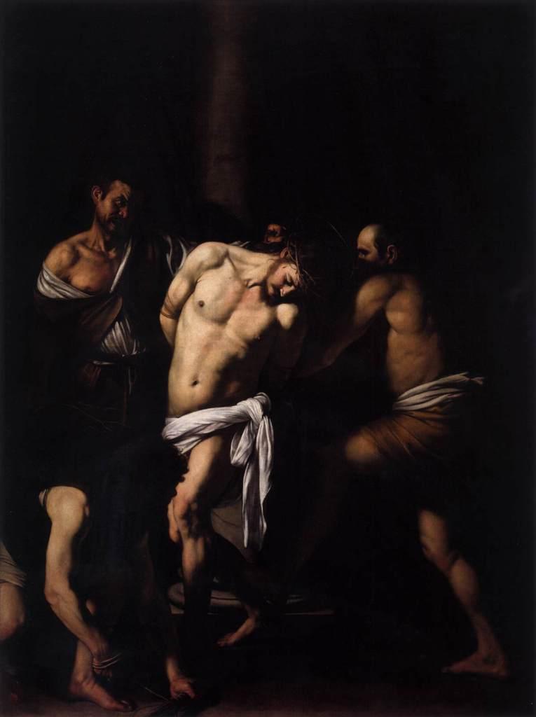 Caravaggio, The Flagellation of Christ, 1607