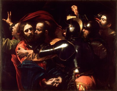 Caravaggio, The Taking of Christ, 1598