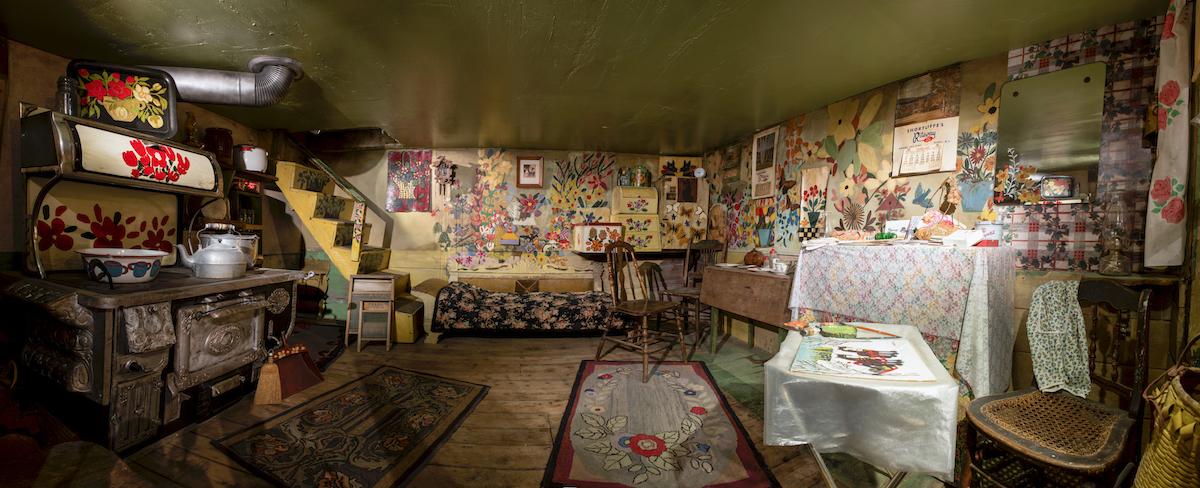 Maud Lewis House Inside