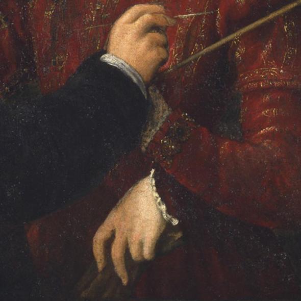 Sofonisba Anguissol, Bernardino Campi Painting Sofonisba Anguissola, 1559