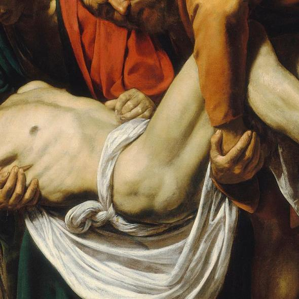 The Entombment of Christ, Caravaggio 1603-4
