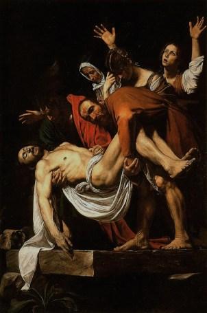The Entombment of Christ, Caravaggio 1603-4