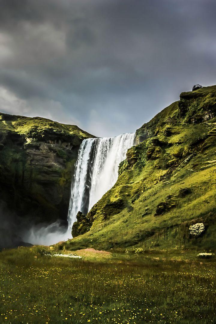Eden - Skogafoss, Iceland