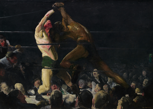George Bellows, Both Members of This Club, 1910