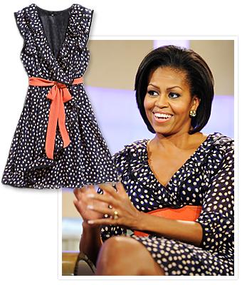 Michelle Obama H&M dress