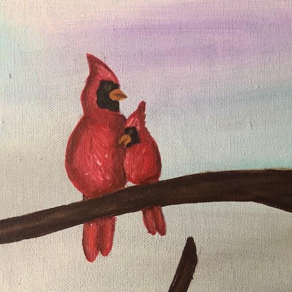 Close Up - Cardinals