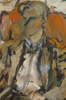 Elaine de Kooning, Willem de Kooning, 1952