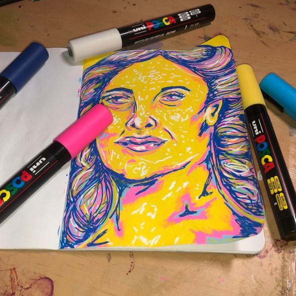 Posca Pen Sketch