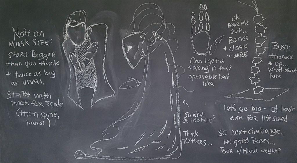 Tumnus Moran Chalkboard Sketches
