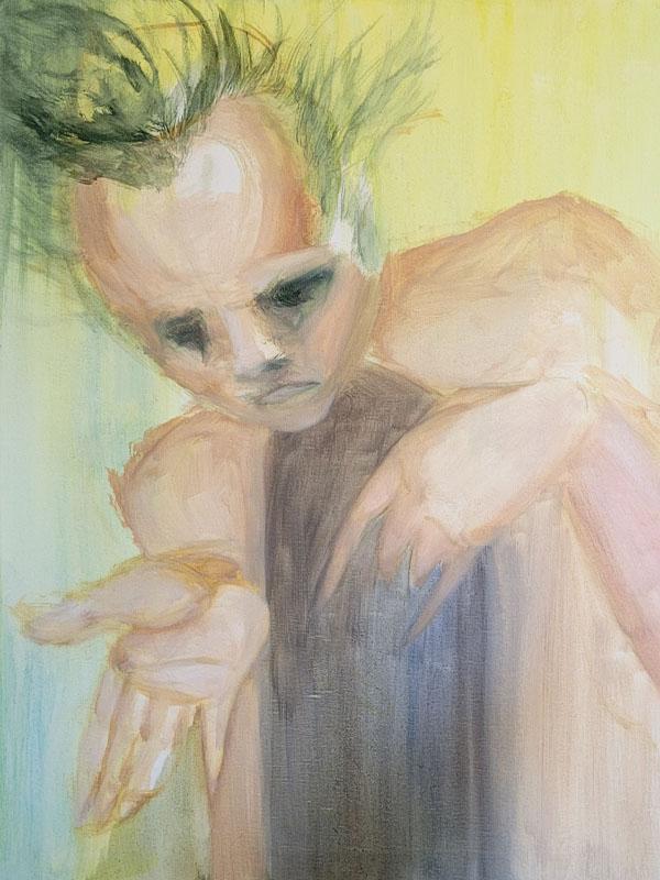 Tumnus Moran Painting for Sculpture Progress 5
