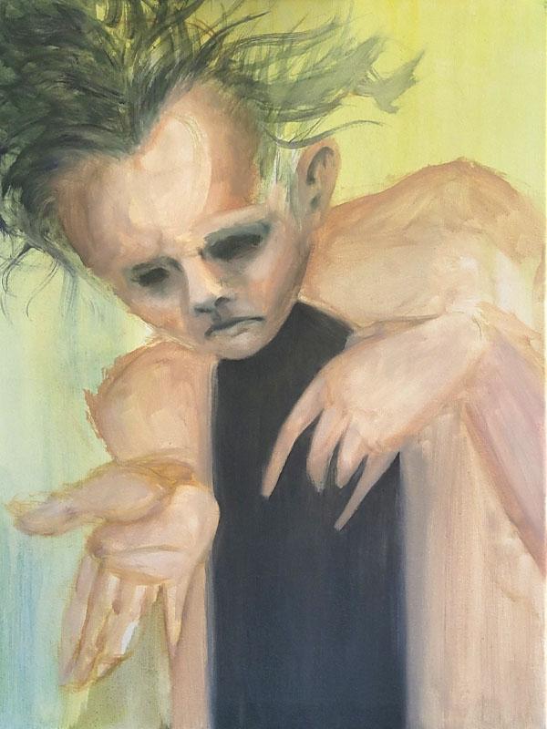 Tumnus Moran Painting for Sculpture Progress 6