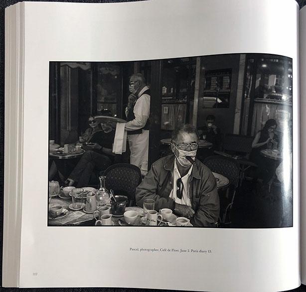 Pascal, photogrpaher, Café de Flore. June 2. Paris diary 13- Peter Turnley