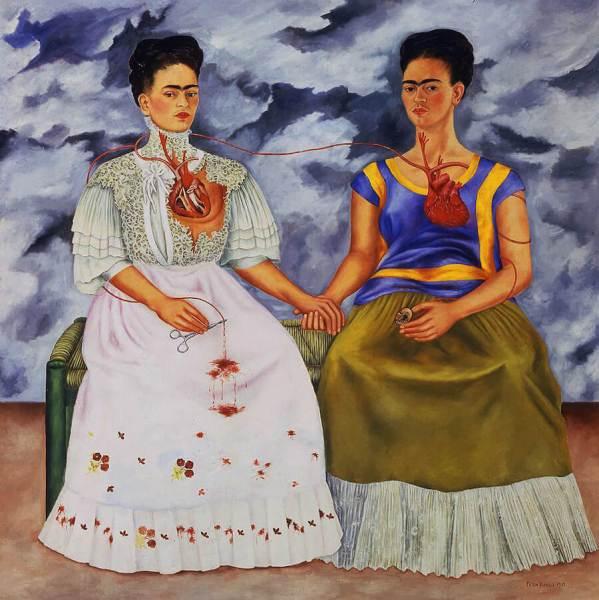 The Two Fridas, Frida Kahlo