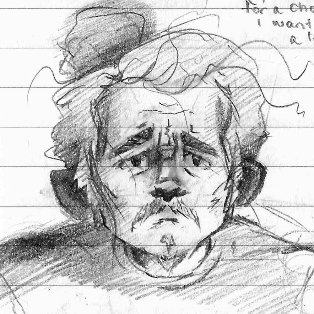 Tumnus Moran Character Sketch Michal 1