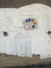 My paint palette sticker